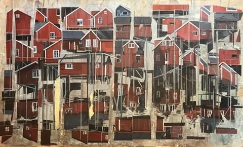 Obraz do salonu artysty Agata Krutul pod tytułem Community 3