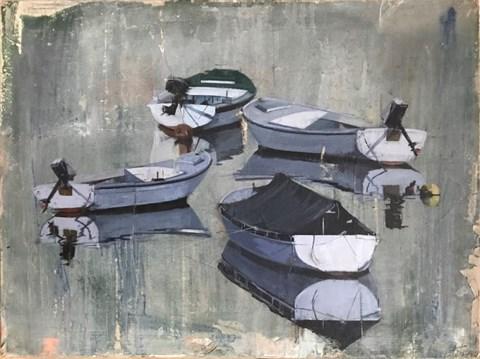 Obraz do salonu artysty Agata Krutul pod tytułem Det Er Stille