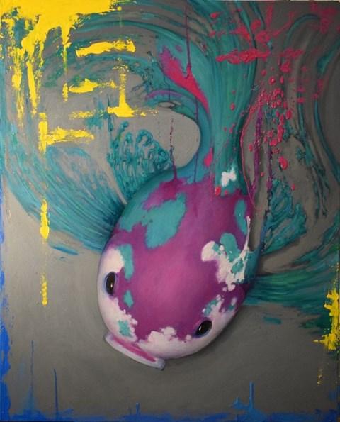 Obraz do salonu artysty Dominik Balcerzak pod tytułem The Ability of the Atom