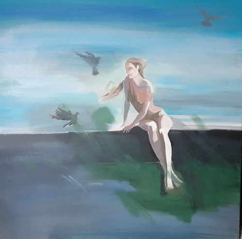 Obraz do salonu artysty Marta Szarek-Michalak pod tytułem Summer time