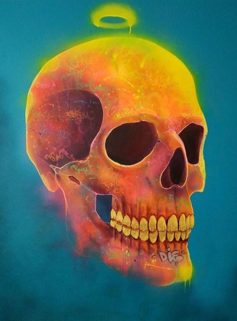 Obraz do salonu artysty Campio pod tytułem Memento Mori