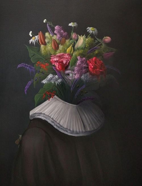 Obraz do salonu artysty Campio pod tytułem Botanist