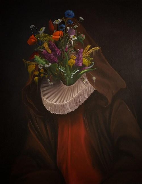 Obraz do salonu artysty Campio pod tytułem Zielarz