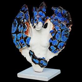 Rzeźba do salonu artysty Jacek Opała pod tytułem Przemiana motyla 1