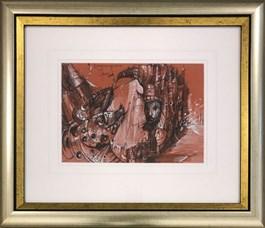 Obraz do salonu artysty Tomasz Sętowski pod tytułem Niekończąca się opowieść