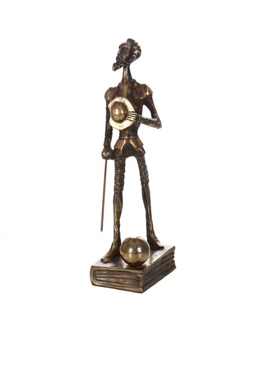 Rzeźba do salonu artysty Tomasz Sętowski pod tytułem Don Kichote
