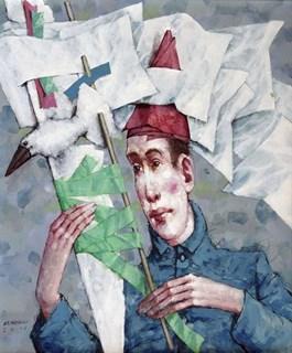 Obraz do salonu artysty Waldemar Marszałek pod tytułem Z cyklu Franciszek