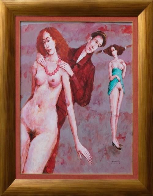 Obraz do salonu artysty Waldemar Marszałek pod tytułem Korale