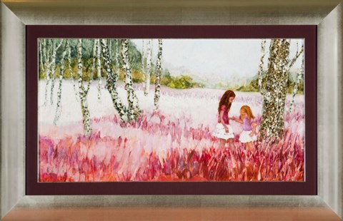 Obraz do salonu artysty Martta Węg pod tytułem Mazowieckie pejzaże