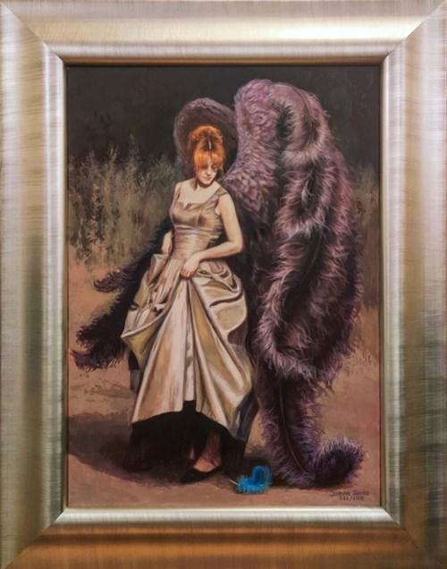 Obraz do salonu artysty Joanna Sierko-Filipowska pod tytułem Zgubione pióro