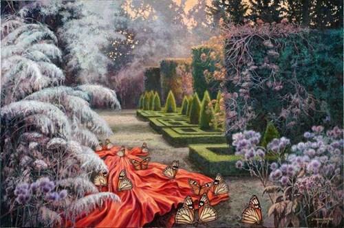 Obraz do salonu artysty Joanna Sierko-Filipowska pod tytułem Ostatnie kuszenie