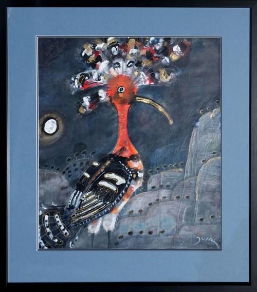 Obraz do salonu artysty Józef Wilkoń pod tytułem Dudek