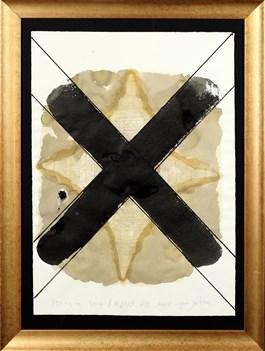 Obraz do salonu artysty Andrzej Strumiłło pod tytułem Krzyż mojego patrona