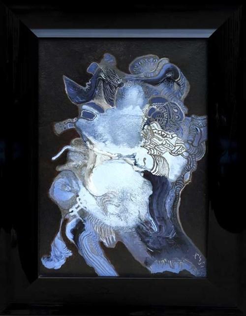 Obraz do salonu artysty Andrzej Strumiłło pod tytułem Mała głowa I