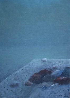 Obraz do salonu artysty Stanisław Kortyka pod tytułem Zanikający horyzont