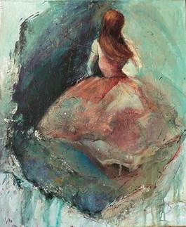 Obraz do salonu artysty Olga Gralewska pod tytułem Baletnica