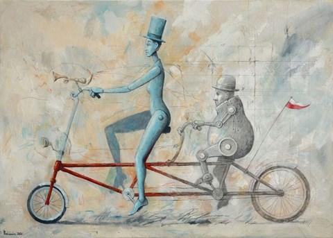 Obraz do salonu artysty Grzegorz Radziewicz pod tytułem Koincydencja