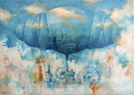 Obraz do salonu artysty Grzegorz Radziewicz pod tytułem Plan