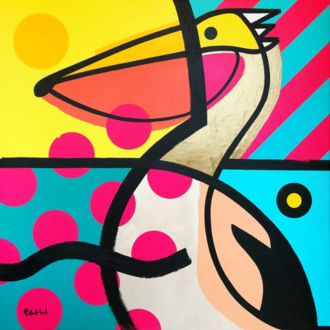 Obraz do salonu artysty Marcin Gregorczuk pod tytułem Bez tytułu