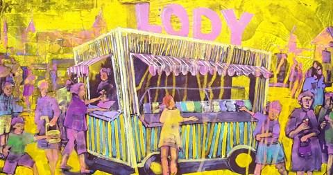 Obraz do salonu artysty Monika Ślósarczyk pod tytułem Lody