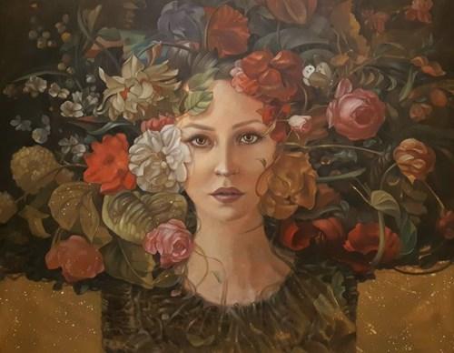 Obraz do salonu artysty Maciej Wierzbicki pod tytułem Diana