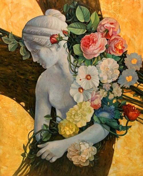 Obraz do salonu artysty Maciej Wierzbicki pod tytułem Dolce Vita