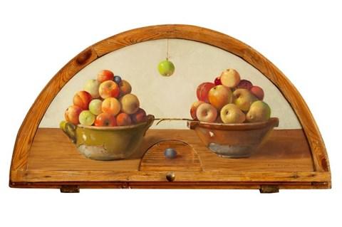 Obraz do salonu artysty Wiktor Jerzy Jędrzejak pod tytułem Piramidy zdrowia