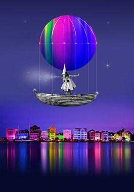 Obraz do salonu artysty Paulina Zalewska pod tytułem Miasto tajemnic