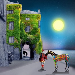 Obraz do salonu artysty Paulina Zalewska pod tytułem Parade Horse