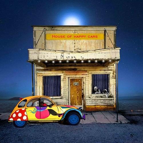 Obraz do salonu artysty Paulina Zalewska pod tytułem House of Happy Car
