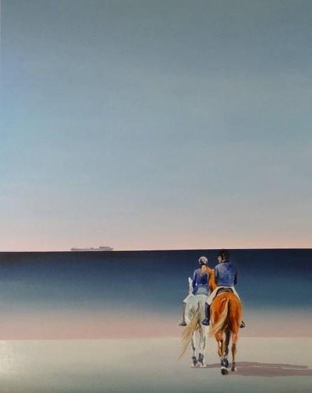 Obraz do salonu artysty Katarzyna Środowska pod tytułem W stronę morza