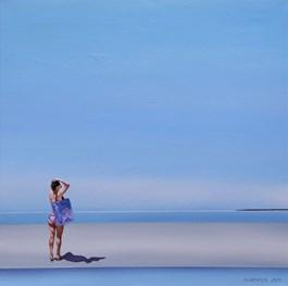 Obraz do salonu artysty Katarzyna Środowska pod tytułem Nad brzegiem ciepłego dnia
