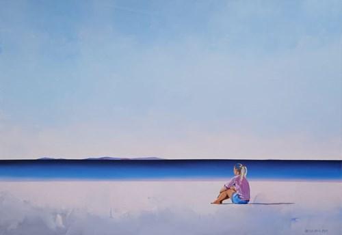 Obraz do salonu artysty Katarzyna Środowska pod tytułem Chwila wytchnienia
