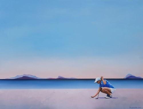 Obraz do salonu artysty Katarzyna Środowska pod tytułem Dobry czas