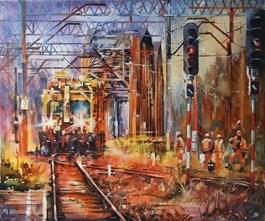 Obraz do salonu artysty Paweł Gładkow pod tytułem Tridge