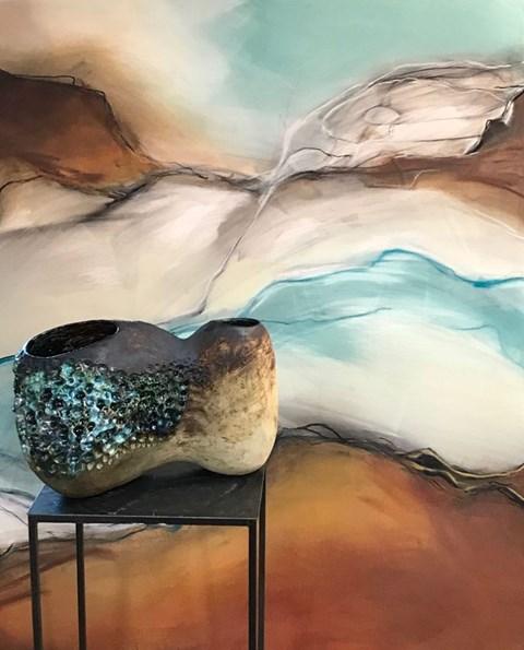 Obraz do salonu artysty Joanna Roszkowska pod tytułem Duet Harmony