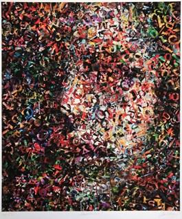 Obraz do salonu artysty Małgorzata Kosiec pod tytułem Meditation