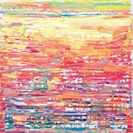 Obraz do salonu artysty Gossia Zielaskowska pod tytułem Rainbow map