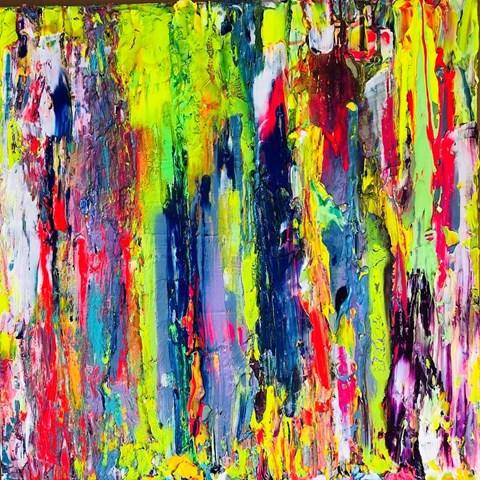 Obraz do salonu artysty Gossia Zielaskowska pod tytułem Kobra