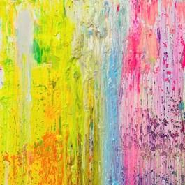 Obraz do salonu artysty Gossia Zielaskowska pod tytułem Summer Light Map