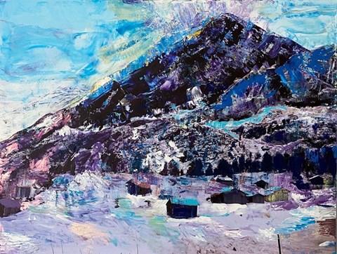 Obraz do salonu artysty Gossia Zielaskowska pod tytułem Cortina Dream Map