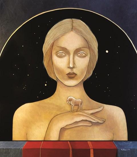 Obraz do salonu artysty Katarzyna Kołtan pod tytułem Elvira