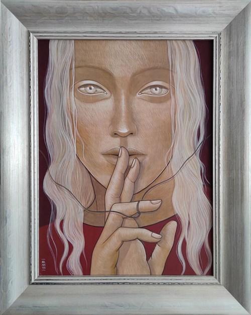 Obraz do salonu artysty Katarzyna Kołtan pod tytułem Inez