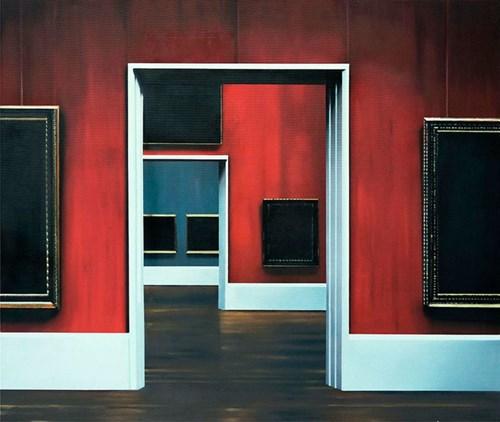 Obraz do salonu artysty Mateusz Maliborski pod tytułem Muzeum XXIX