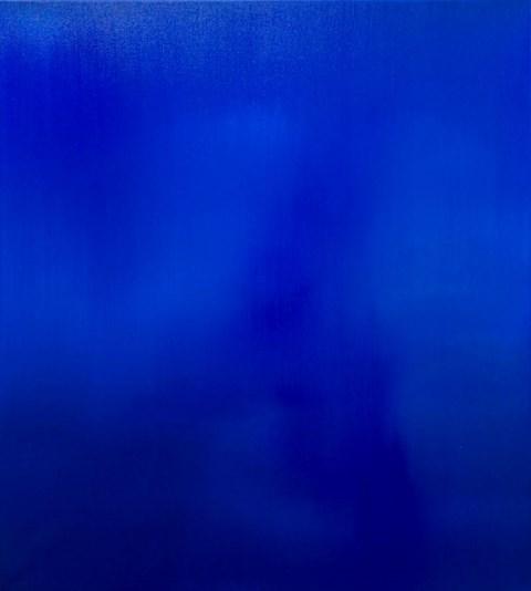 Living room painting by Bartosz Kokosiński titled 63 (Noises series)