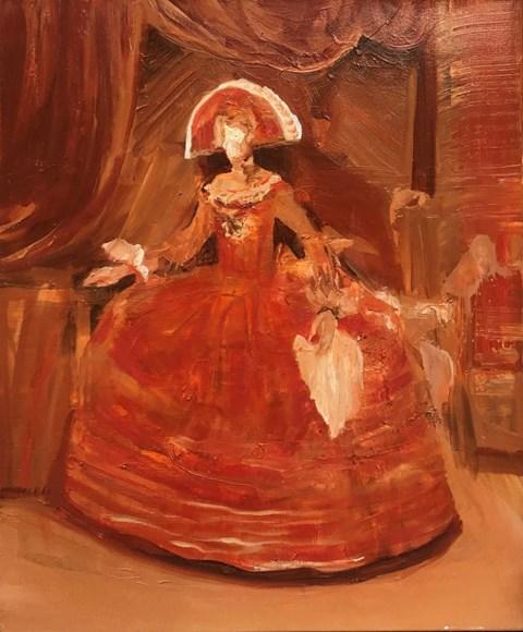 Obraz do salonu artysty Tomasz Tobolewski pod tytułem Szkic do V.