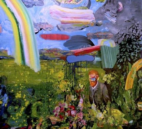 Obraz do salonu artysty Tomasz Tobolewski pod tytułem Spacer