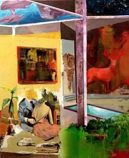 Obraz do salonu artysty Tomasz Tobolewski pod tytułem Outside