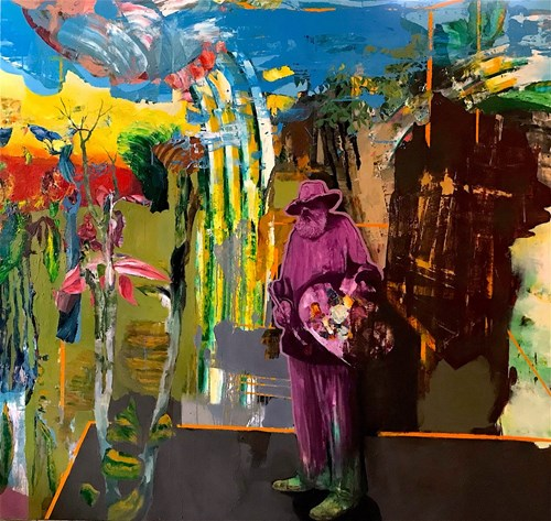 Obraz do salonu artysty Tomasz Tobolewski pod tytułem Sunshine