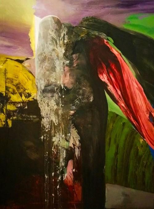 Obraz do salonu artysty Tomasz Tobolewski pod tytułem Łapacz dusz